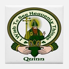 Quinn Clan Motto Ceramic Tile