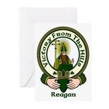 Reagan Clan Motto Greeting Cards (Pk of 10)