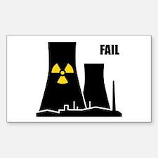 Nuclear Reactor FAIL Decal