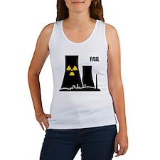 Nuclear Reactor FAIL Women's Tank Top