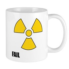 Nuclear Symbol FAIL Mug