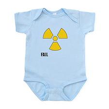 Nuclear Symbol FAIL Infant Bodysuit