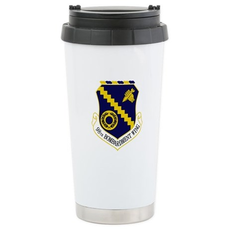 98th Bomb Wing Stainless Steel Travel Mug