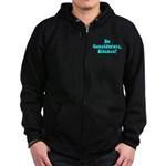 Be Considerate! Zip Hoodie (dark)