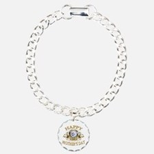 Happy Mother's Day Schnoodle Charm Bracelet, One C