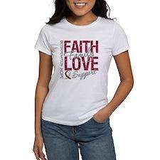Head Neck Cancer Faith Tee