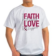 Head Neck Cancer Faith T-Shirt