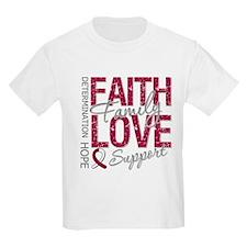 Head Neck Cancer Faith T-Shirt