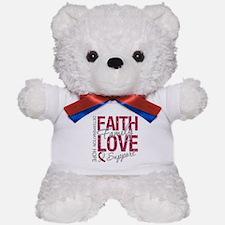 Head Neck Cancer Faith Teddy Bear