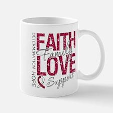 Head Neck Cancer Faith Mug