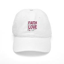 Head Neck Cancer Faith Baseball Cap