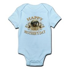 Happy Mother's Day Rottweiler3 Infant Bodysuit