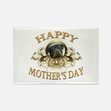 Happy Mother's Day Rottweiler3 Rectangle Magnet