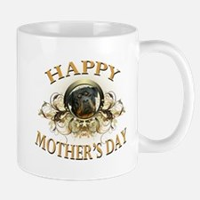 Happy Mother's Day Rottweiler3 Small Small Mug