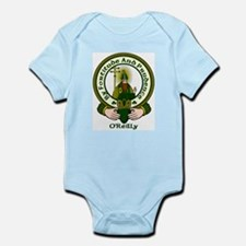 Reilly Clan Motto Infant Creeper