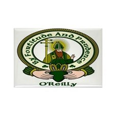 Reilly Clan Motto Rectangle Magnet (10 pack)