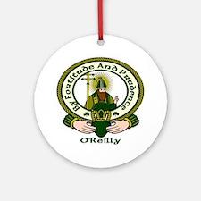 Reilly Clan Motto Ornament (Round)