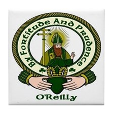Reilly Clan Motto Ceramic Tile