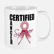 Certified Cancer Survivor Mug