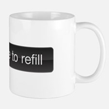 SLIDE TO REFILL Coffe mug
