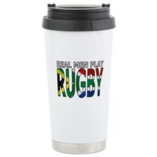 Real Men Rugby South Africa Travel Mug