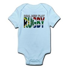 Real Men Rugby South Africa Infant Bodysuit