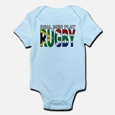 Real Men Rugby South Africa Infant Bodysuit