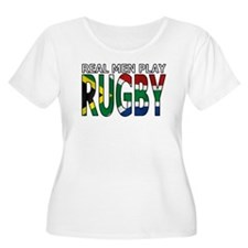 Real Men Rugby South Africa T-Shirt