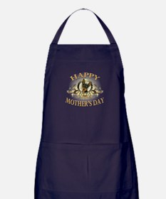 Happy Mother's Day Min Pin Apron (dark)