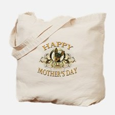 Happy Mother's Day Min Pin Tote Bag