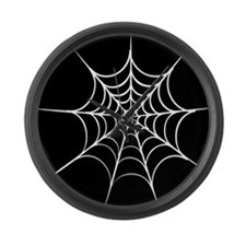 Unique Spiderweb Large Wall Clock