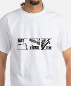 Eat Sleep Play Sax Shirt