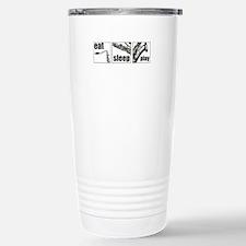 Eat Sleep Play Sax Stainless Steel Travel Mug