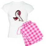 Head Neck Cancer Slogans Women's Light Pajamas