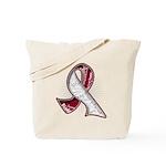 Head Neck Cancer Slogans Tote Bag