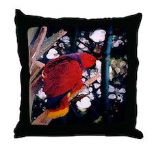 Eclectus series 3 Throw Pillow