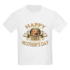 Happy Mother's Day Golden Retriever T-Shirt