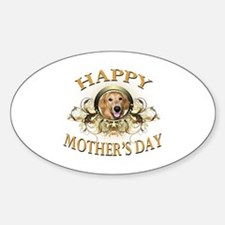Happy Mother's Day Golden Retriever Decal