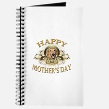 Happy Mother's Day Golden Retriever Journal