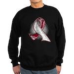 Head Neck Cancer Slogans Sweatshirt (dark)
