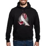 Head Neck Cancer Slogans Hoodie (dark)