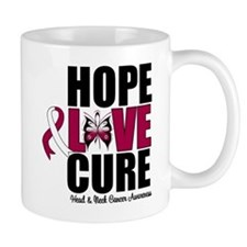 Head Neck Cancer Hope Small Mug