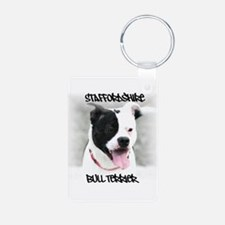 Staffordshire Bull Terrier Keychains