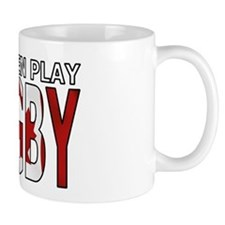 Real Men Rugby Canada Small Mugs