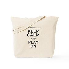 Keep Calm Flute Tote Bag
