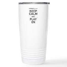 Keep Calm Flute Travel Mug
