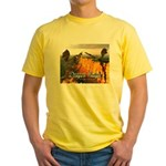 Dragon Reign Yellow T-Shirt