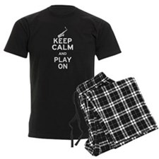 Keep Calm and Play On (Sax) Pajamas