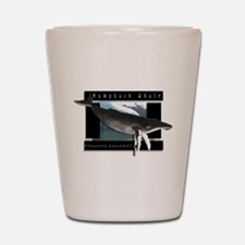 HumpBack Whale Art Shot Glass