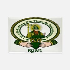 Ryan Clan Motto Rectangle Magnet (10 pack)